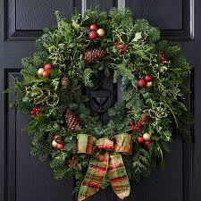 noble fir wreath at jackson and perkins