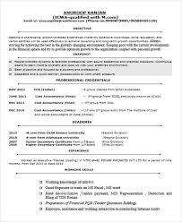 Fresher Accountant Resume Sample by 40 Fresher Resume Examples