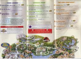 Universal Studios Orlando Map 2015 by All Around Orlando Retro 2007 Islands Of Adventure Theme Park