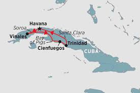 Cuba South America Map by Cuba Tours Travel U0026 Trips Peregrine Adventures Au