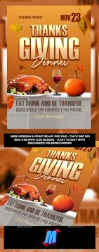 thanksgiving flyer template by megakidgfx graphicriver