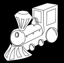 tren train black white bw coloring book colouring colouringbook