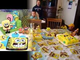 Spongebob Centerpiece Decorations by Cool Spongebob Birthday Party Ideas Youtube