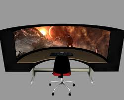 Gaming Pc Desk by Desk Best Gaming Desks Within Fantastic Best Gaming Computer