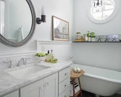 Glass Bathroom Accessories by Bathroom Clawfoot Tub In Nice Beach Style Bathroom Ideas With