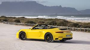 yellow porsche 911 2018 porsche 911 carrera 4 gts cabrio color racing yellow
