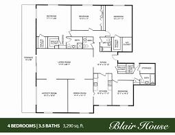 5 bedroom 3 bath floor plans inspirational 2 bedroom 2 bath house plans awesome house plan ideas