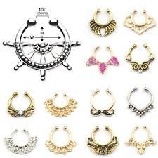 aliexpress nose rings images Wholesale a designs nose ring online buy best a designs nose jpg