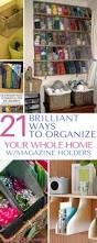 21 brilliant ways to organize your whole home with dollar store