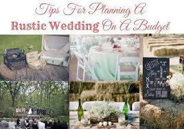 weddings on a budget wedding budget tips rustic wedding chic