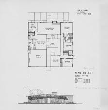 1963 lucas valley style eichler floor plan in the land of