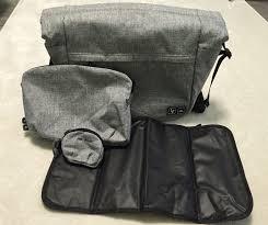 wickeltasche abc design gebraucht abc design wickeltasche courier graphite grey in 64625