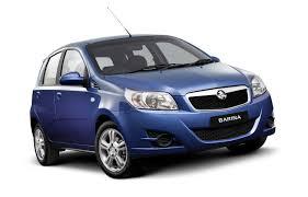 upgraded barina 3 door hatchback achieves 4 star crash test rating