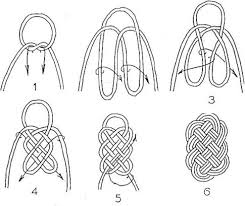 617 best knots images on knotted braid macrame knots