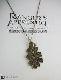 silver leaf necklace pendant images Ranger 39 s apprentice bronze oak leaf pendant jpg