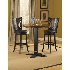 Kitchen Table Swivel Chairs by Hillsdale Dynamic Designs Bar Height Bistro Table And Swivel