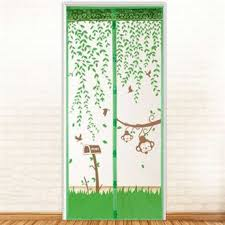 Magic Mesh Curtain Online Portiere Display Screen Doorway Magnetic Magnet Scenery