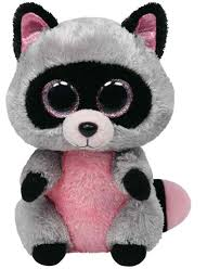 ty beanie boo rocco wasbeer 23cm ty beanies animals