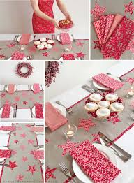 Christmas Table Decoration Kits by Stunning New Liberty Christmas Star Table Runner Kit