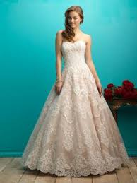 lace and tulle elegant ball gown strapless sweetheart wedding