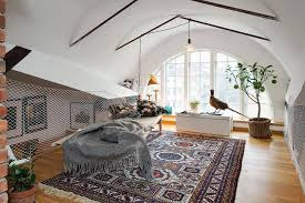 attic apartment in the scandinavian style modern attic apartment in the scandinavian style