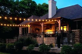 String Lighting For Patio Outdoor String Lights Backyard Outdoor String Lights Patio Image