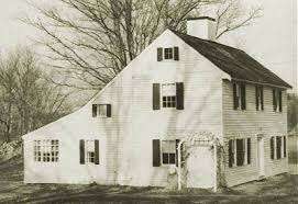 What Is A Saltbox House | saltbox 1650 1830 old house web