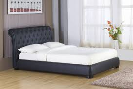 bedroom great king size sleigh bed for main bedroom decor