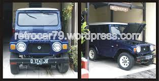 jeep daihatsu mobil dijual u201cdaihatsu taft jeep 4wd retrocar79