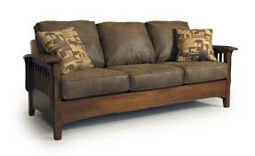 Mission Sleeper Sofa Westney Mission Sofa S Real Wood Furniture