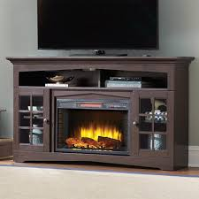 Lowes Fireplace Stone by Tv Stands Tv Stand With Electric Fireplace Reviews Stone