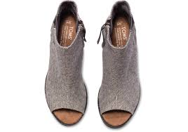 womens fall boots canada s shoes toms s grey castlerock majorca peep toe