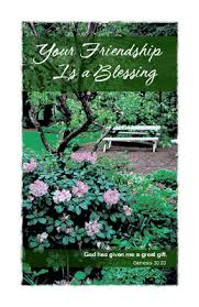blessing cards your friendship is a blessing greeting card everyday friend