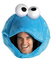 sesame street cookie monster headpiece mr costumes