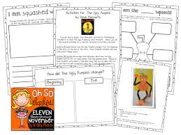 thanksgiving activities for kindergarten grade and second