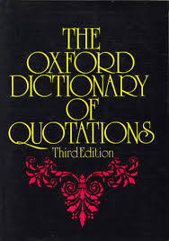 Oxford Press Desk Copy The Oxford Dictionary Of Quotations By Oxford University Press