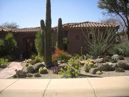desert home decor front yards yard landscaping and on pinterest desert landscape