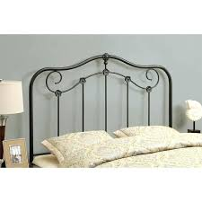metal headboard queen l14319178 sleep sync arch flex silver bed
