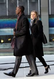 kristen bell and don cheadle photos photos stars on the set of