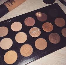m maccosmetics 13835 28062 s makeup eyes eye palettes kits eye shadow x15 warm neutral google mac