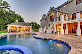 outdoor house outdoor pool pool house