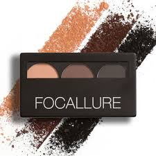 alibaba focallure dropship focallure 3 color eye shadow makeup palette kit set to sell