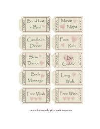 book romantic coupon book template