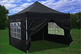 gazebo heavy duty black 3 x 3 hercules commercial grade heavy duty pop up gazebo