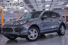 porsche suv 2014 pre owned 2013 porsche cayenne diesel suv in warrenville um2757