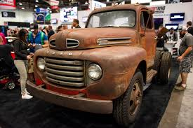 Ford Diesel Dump Truck - this 600 hp 1950 ford f 6 is a chopped dump truck straight out of