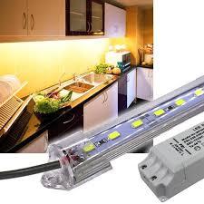 unterbaulen küche led unterbauleuchte 230v mit trafo led beleuchtung küche