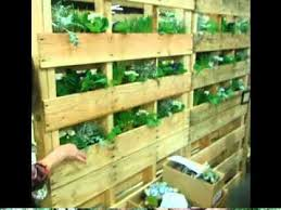 Pallets Garden Ideas Vertical Pallet Garden Ideas