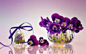 Smiley Flowers - purple smiley flowers in vase hd wallpapers hd wallpapers rocks