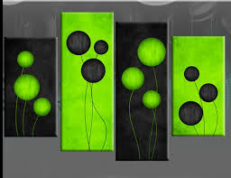3 green canvas wall decor lime green canvas wall art 3 pictures